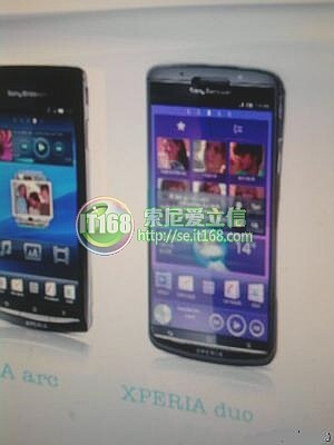 New photo of the Sony Ericsson Xperia duo emerges