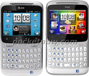 First pictures of the HTC ChaCha for AT&T leak out