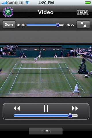 Official Wimbledon app hits iOS