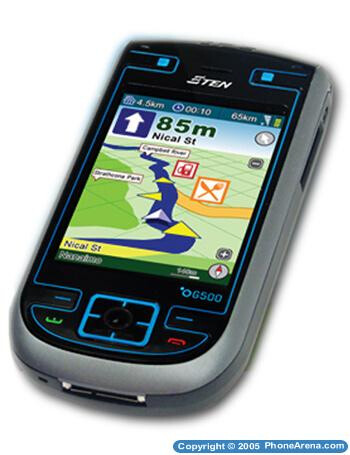 E-TEN officially introduces its GPS-enabled Pocket PC phone – G500