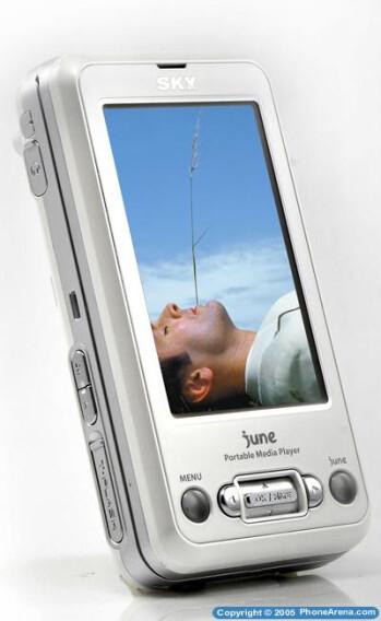 Pantech unveils IM-U100 PMP phone