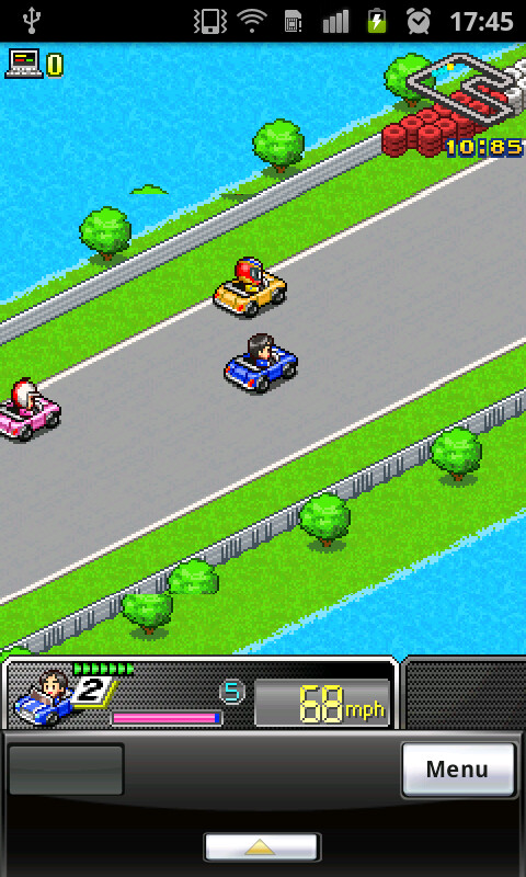 Grand Prix Story has the looks of an old school video game - Grand Prix Story for Android Review