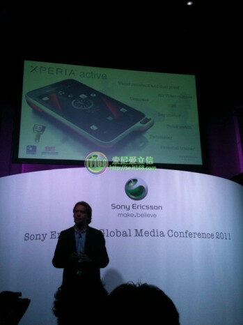 Sony Ericsson Xperia ray, Xperia active and Sony Ericsson txt announcement at CommunicAsia 2011