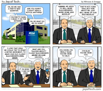 Snarky comic explains RIM's co-CEO phenomenon