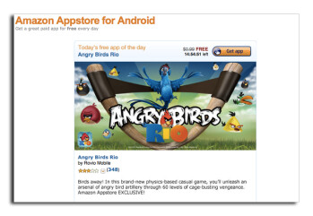 A U.S. District Court Judge says she is likely to deny Apple's request to block Amazon from using the namew Appstore