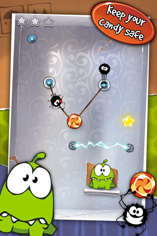 Cut the Rope is now available for Android