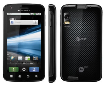 The Motorola ATRIX 4G