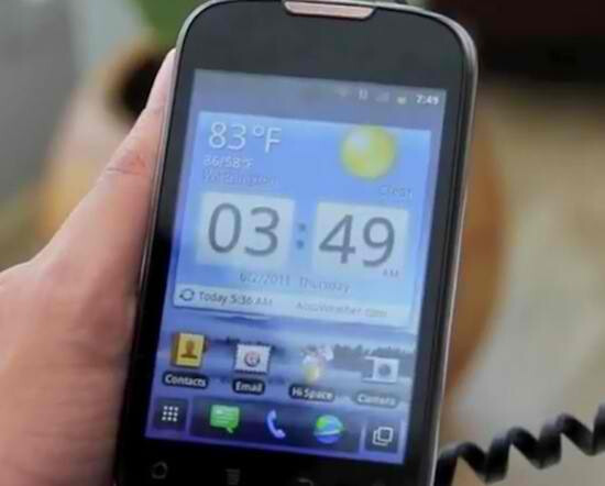 Affordable Huawei Sonic boasts NFC capabilities & Gingerbread; coming to Turkey