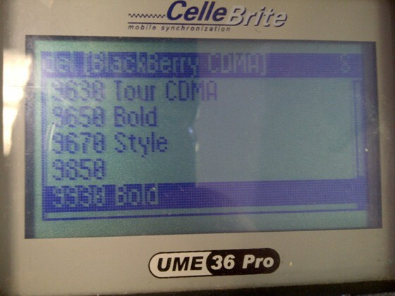 The BlackBerry Bold 9930 and the BlackBerry Torch 9850 are both now on the CelleBrite System - CelleBrite System now includes BlackBerry Bold 9930 and BlackBerry Torch 9850