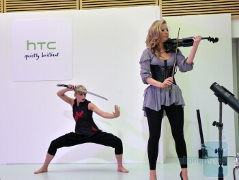 The opening of HTC's UK HQ