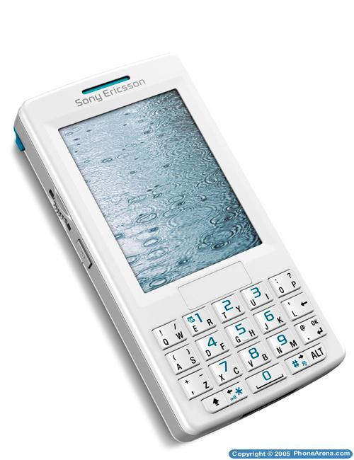 Sony Ericsson unveils the slim M600 messaging cellphone