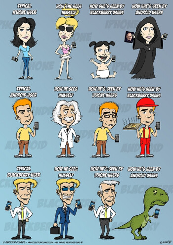 Funny comic reveals what your smartphone says about you