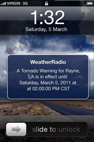 iMapWeather Radio app brings location-based emergency weather alerts to iOS