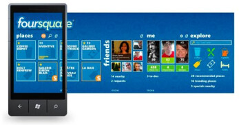 Foursquare app for Windows Phone 7 jumps to v2.0 with updated design & new features