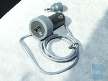 XtremeMac's InCharge Auto BT streams music to any car stereo with an auxiliary input