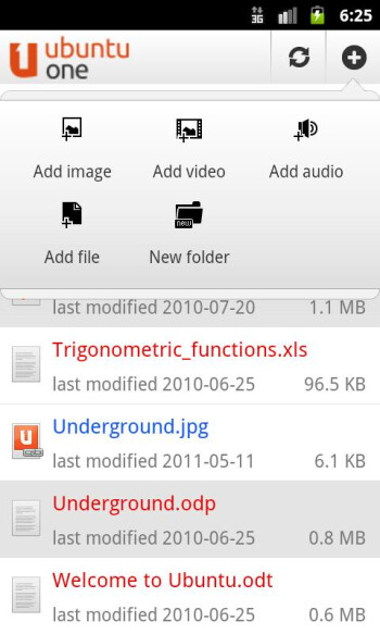 Ubuntu One Files comes to Android