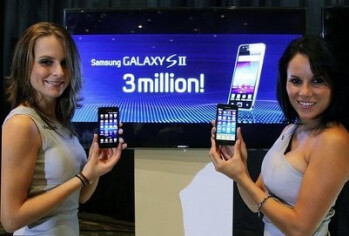 It has taken just 55 days for the Samsung Galaxy S II to sell 3 million units