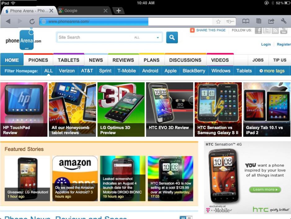 Experience Google Chrome on your iPad with iChromy