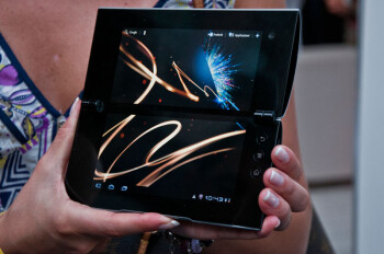 The Sony Tablet S1 features a spacious 9.4-inch display, and the Sony Tablet S2 stands out with its dual-screen folding design
