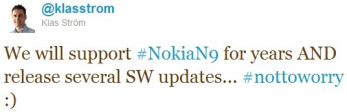 Nokia N9 might be supported, after all, with several MeeGo updates heading its way