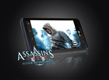 LG Optimus 3D will run 17 titles from Gameloft, and one 3D game produced by LG itself