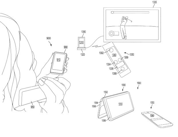 Microsoft files a patent for a dual-screen phone