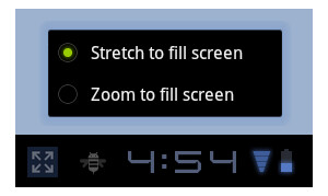 Android 3.2 adds zoom view for non-Honeycomb apps