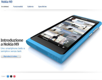 Nokia N9 pops up in Italy; launch seems imminent