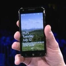 Windows Phone version of the Samsung Galaxy S II