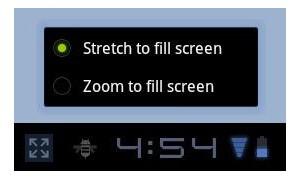 Screen compatibility mode