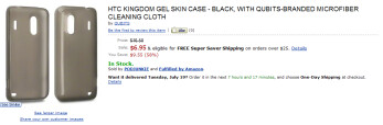 Amazon is already listing cases for the HTC Kingdom, likely soon to be the HTC Hero 4G