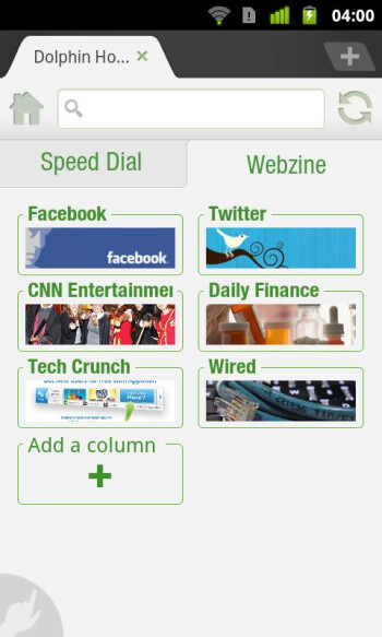 Dolphin 6 not waiting for Flipboard, brings webzines to Android