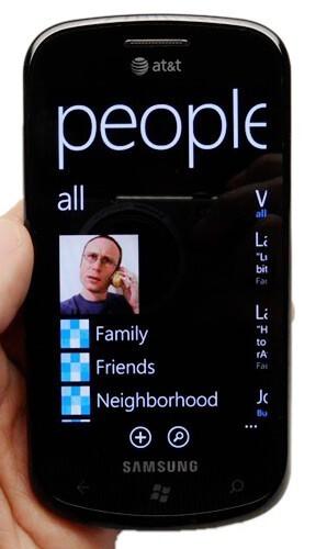 People Hub in Windows Phone Mango demoed in video