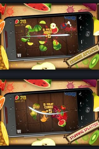 Fruit Ninja for Android just got a free, ad-supported version