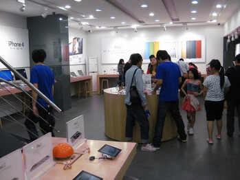 Apple Store imitations in various Chinese cities