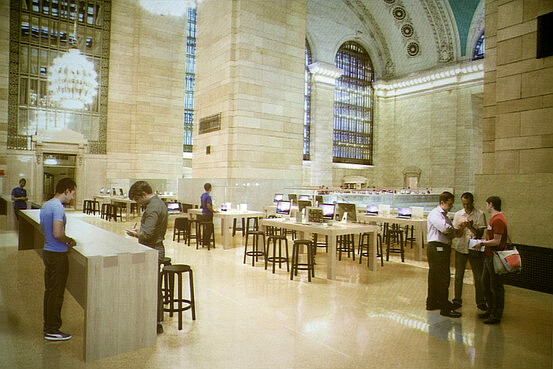 MTA publishes renders of what the Grand Central Apple Store will look like