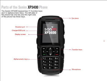 Rugged Sonim XP3400 handset passes the FCC with CDMA radio inside