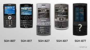 Samsung SGH-i677 will follow in footstep and be a portrait QWERTY WP7 Mango device?
