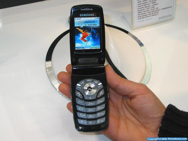 Samsung unveils it new S60 clamshell – SGH-Z600