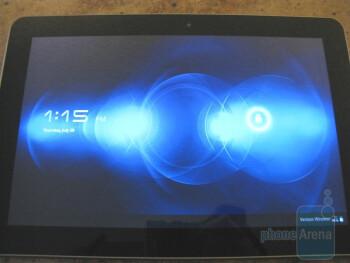 Verizon Samsung Galaxy Tab 10.1 Unboxing