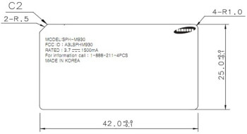 Samsung SPH-M930 is one step closer to reality as it passes through the FCC