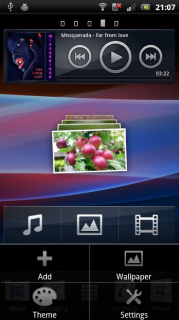 The new Home Launcher from Sony Ericsson's Xperia line leaks for the masses