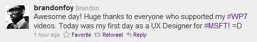 DIY Windows Phone ad creator Brandon Foy gets hired by Microsoft as UX designer
