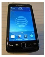 The BlackBerry Torch 9860