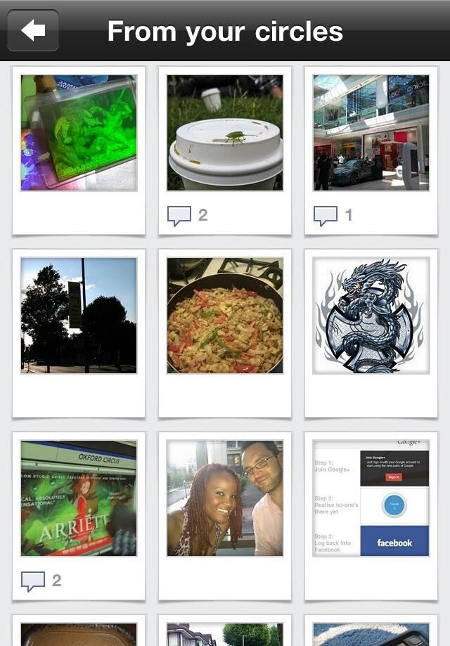 Photos - Google+ app review