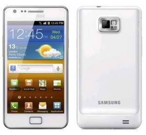 White Samsung Galaxy S II is bound for Vodafone UK