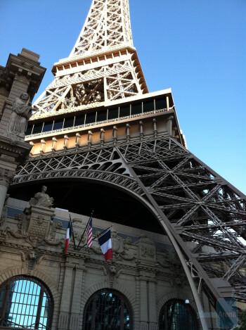 1. Chris C - Apple iPhone 4Las Vegas, replica of the Eiffel Tower