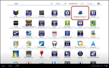 Sony Tablet S1 and S2 screenshots leak; to come with Android 3.2 on board