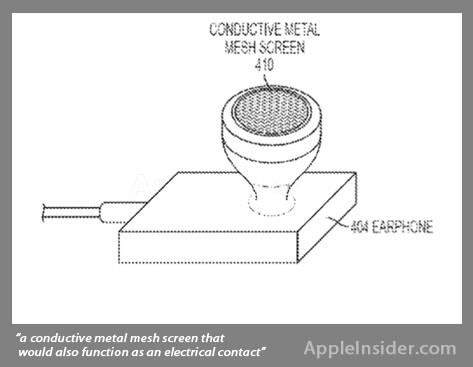 Diagrams from Apple's patent filing on inductive charging - Will your earphones soon charge your Apple iPhone?
