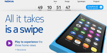 This countdown timer tells us to expect the Nokia N9 to launch on September 23rd